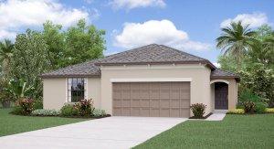 The Harrisburg Model Tour Belmont  Lennar Homes Ruskin Florida