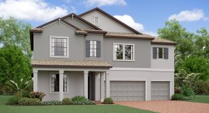 The Montana  Model Tour Lennar Homes South Fork  Riverview Florida