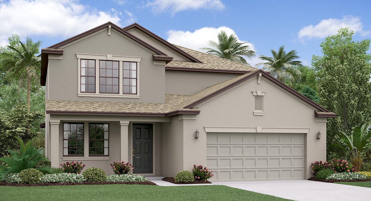 The Pennsylvania Model  Lennar Homes Riverview Florida Real Estate | Ruskin Florida Realtor | New Homes for Sale | Tampa Florida