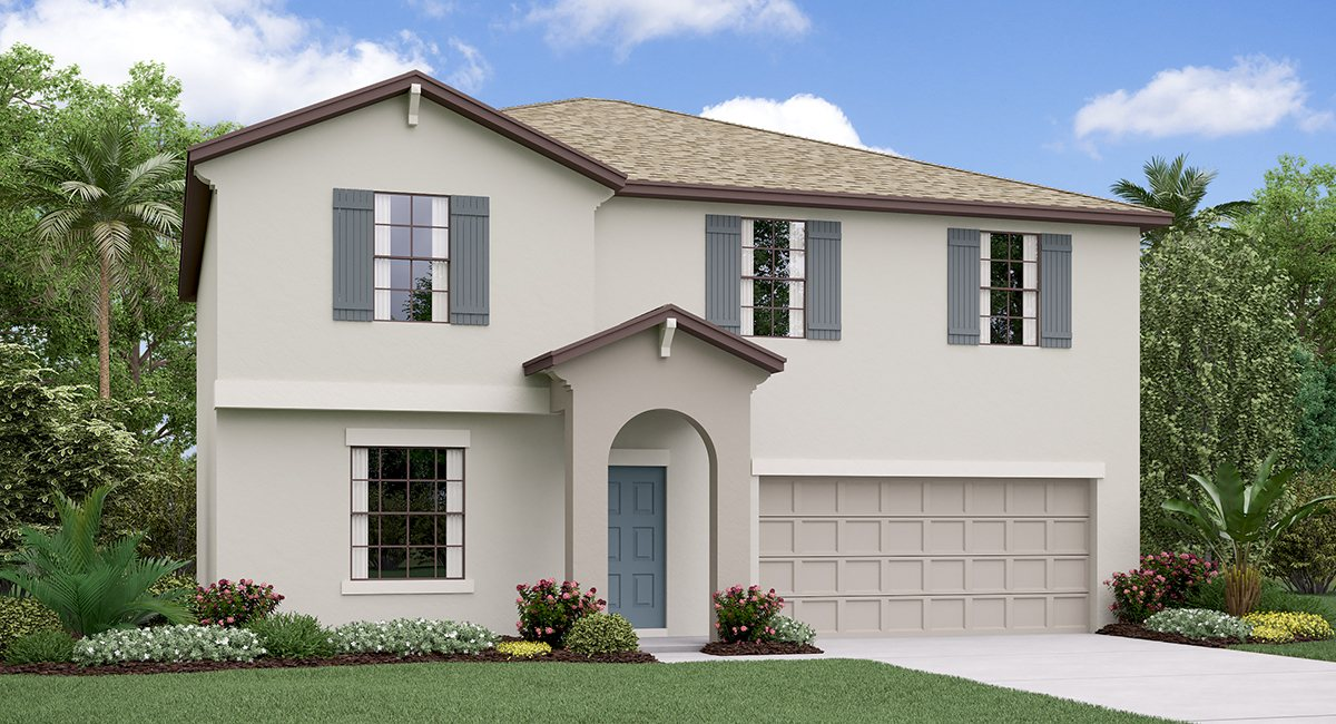The Providence Model Tour Belmont Lennar Homes Ruskin Florida