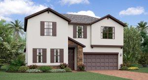 The Rhode Island  Rivercrest Lakes Lennar Homes  Riverview Florida Real Estate | Riverview Realtor | New Homes for Sale | Riverview Florida