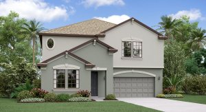 The Vermont Model Tour River Crest Lakes  Lennar Homes Riverview  Florida