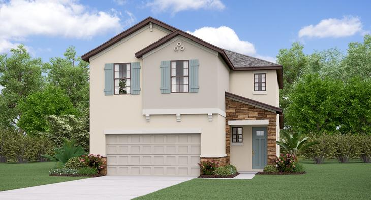 The  Wisconsin  Model Tour Lennar Homes Tampa Florida
