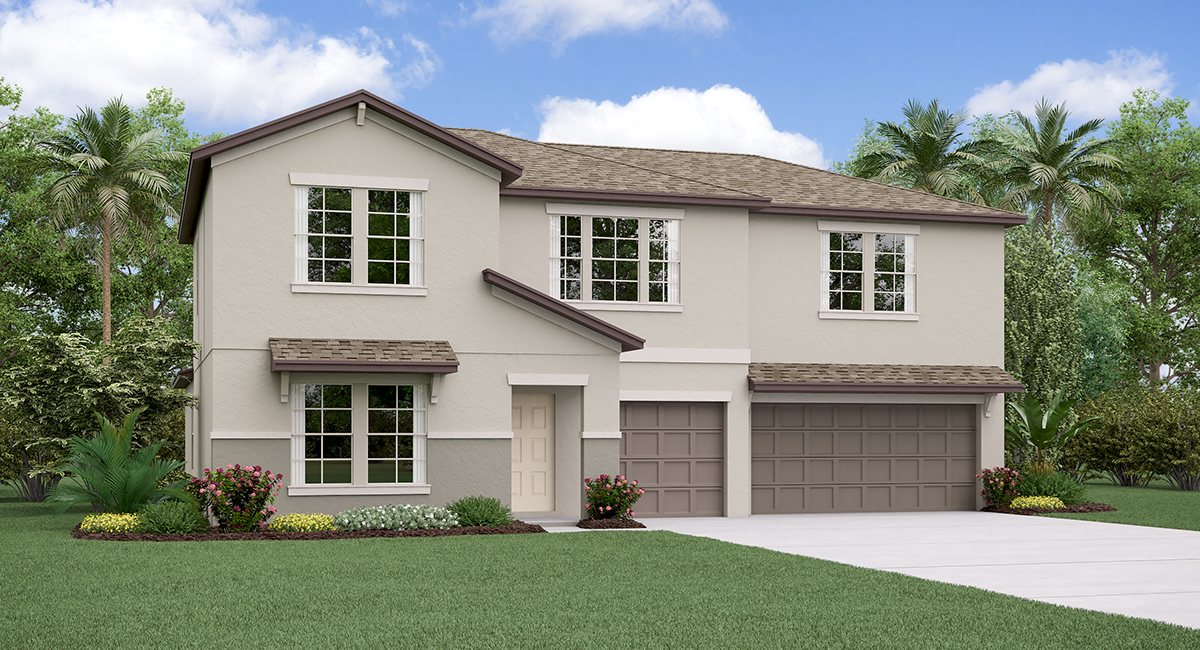 The Cheyenne Model  Tour Lennar Homes Riverview Florida