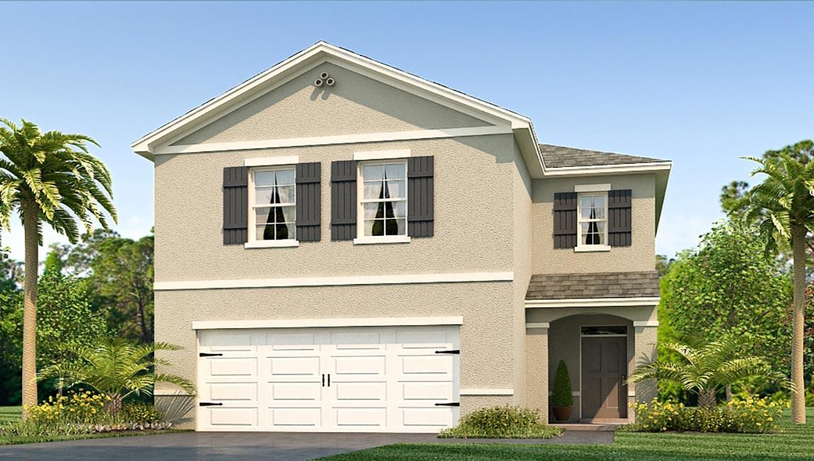 The Elston Model Tour DR Horton Homes Sagebrook Temple Terrace Tampa Florida