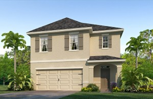 The Robie  Model Tour DR Horton Homes Sagebrook Temple Terrace Tampa Florida