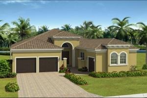 The  Carlyle Model Tour Valencia Del Sol GL Homes Wimauma Florida