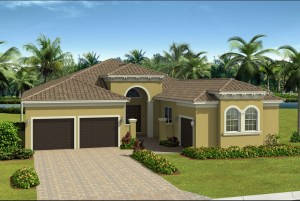 The  Carlyle Model Tour Valencia Del Sol GL Homes Wimauma Florida