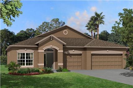 Morris Bridge Manors New Home Community New Tampa Florida