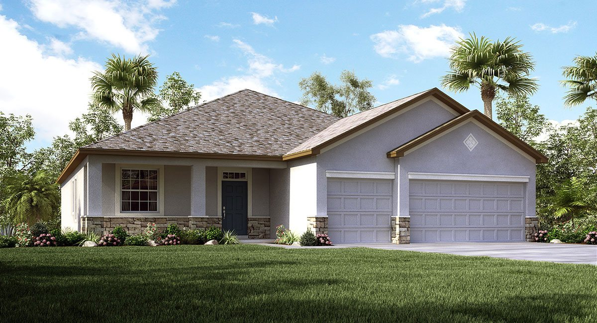 The Lancaster Model Tour Lennar Homes Tampa Florida