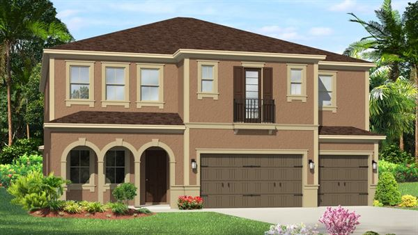 The Saratoga Model Tour WCI Homes Tampa Florida