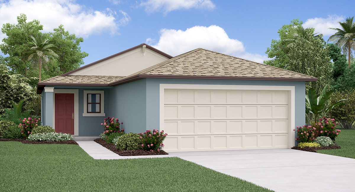 The Albany Model Tour Hawthorne Meadows Lennar Homes Gibsonton Florida