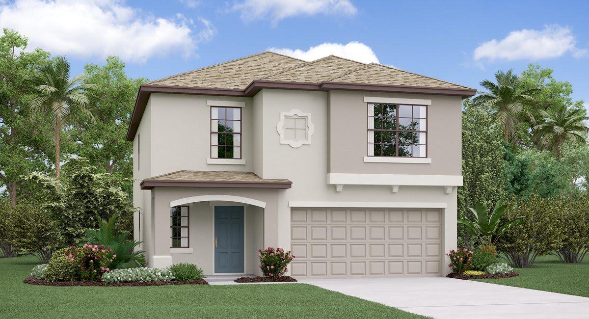 The Boston Model Tour Hawthorne Meadows Lennar Homes Gibsonton Florida