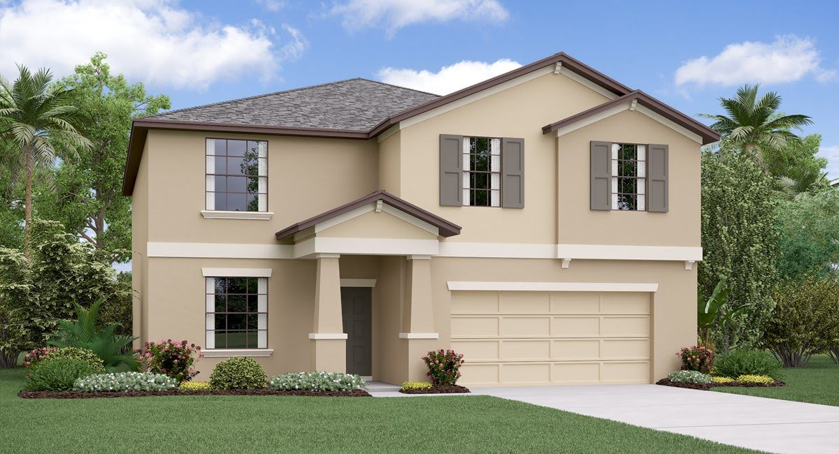 The Richmond Model Tour Epperson Manor Lennar Homes Wesley Chapel Florida