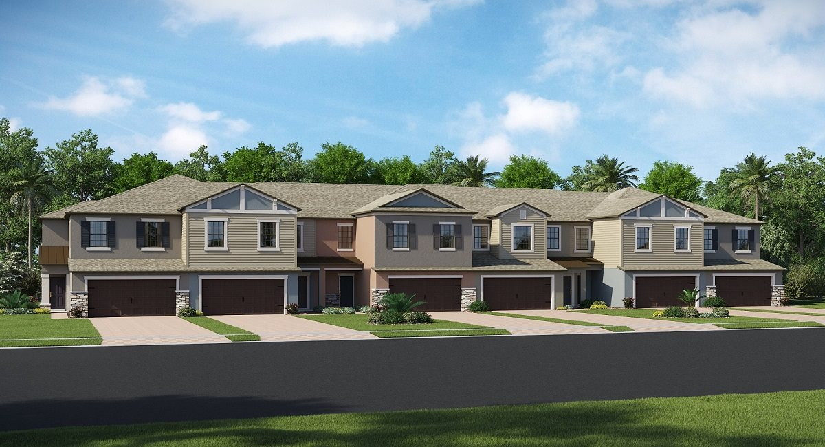 The Palermo Model Tour Willow Square Lennar Homes Lutz Florida