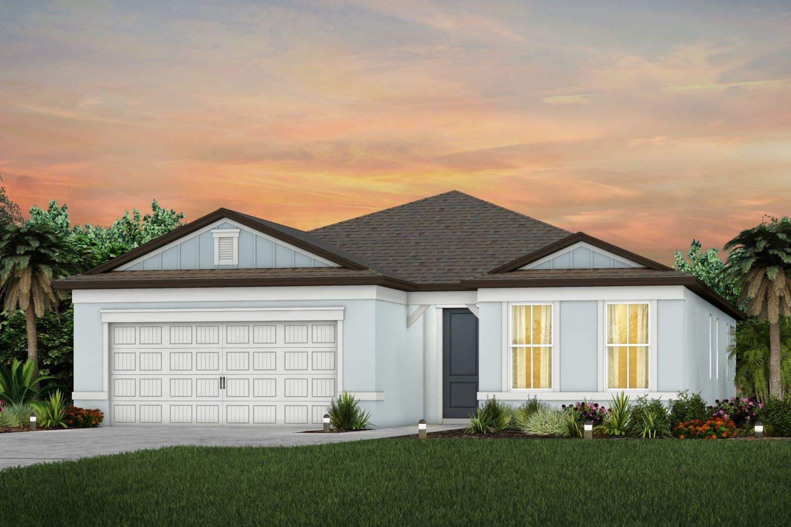 The Mystique Model Tour Cedarbrook Pulte/Centex Homes Riverview Florida