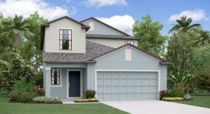 The Columbia  Model Tour Ayersworth Glen Lennar Homes Wimauma Florida