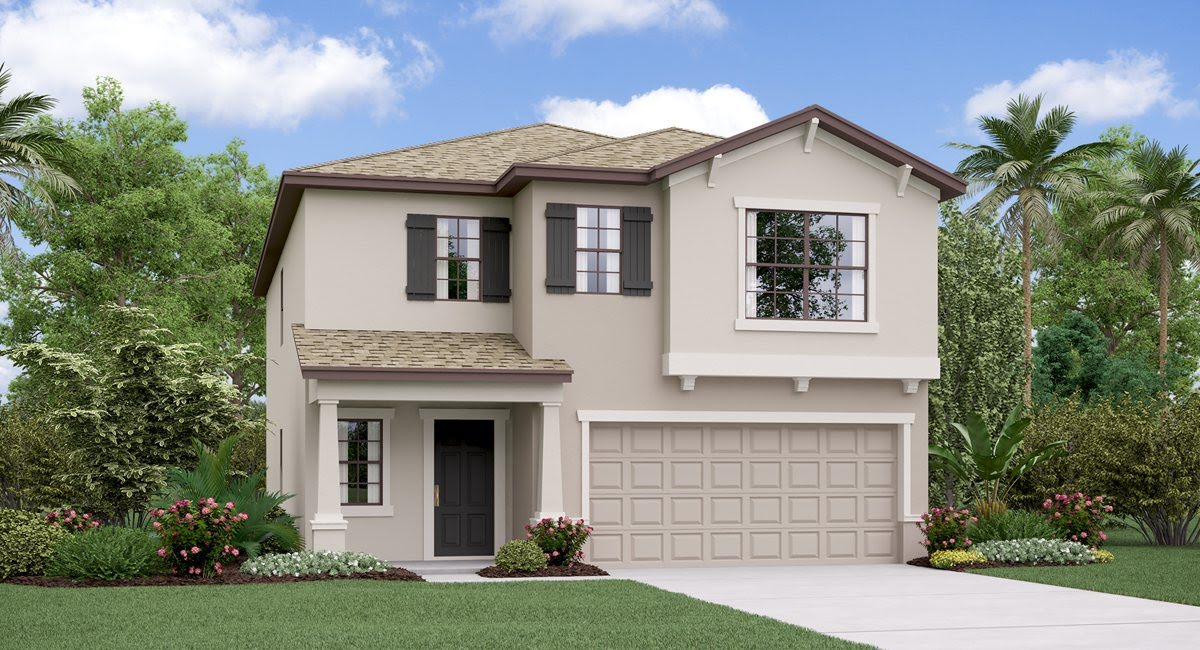 Cypress Mill  Lennar Homes The Concord Model Tour Sun City Center Florida