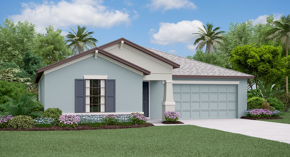 The Dover Model Tour Spencer Creek Lennar Homes Ruskin Florida