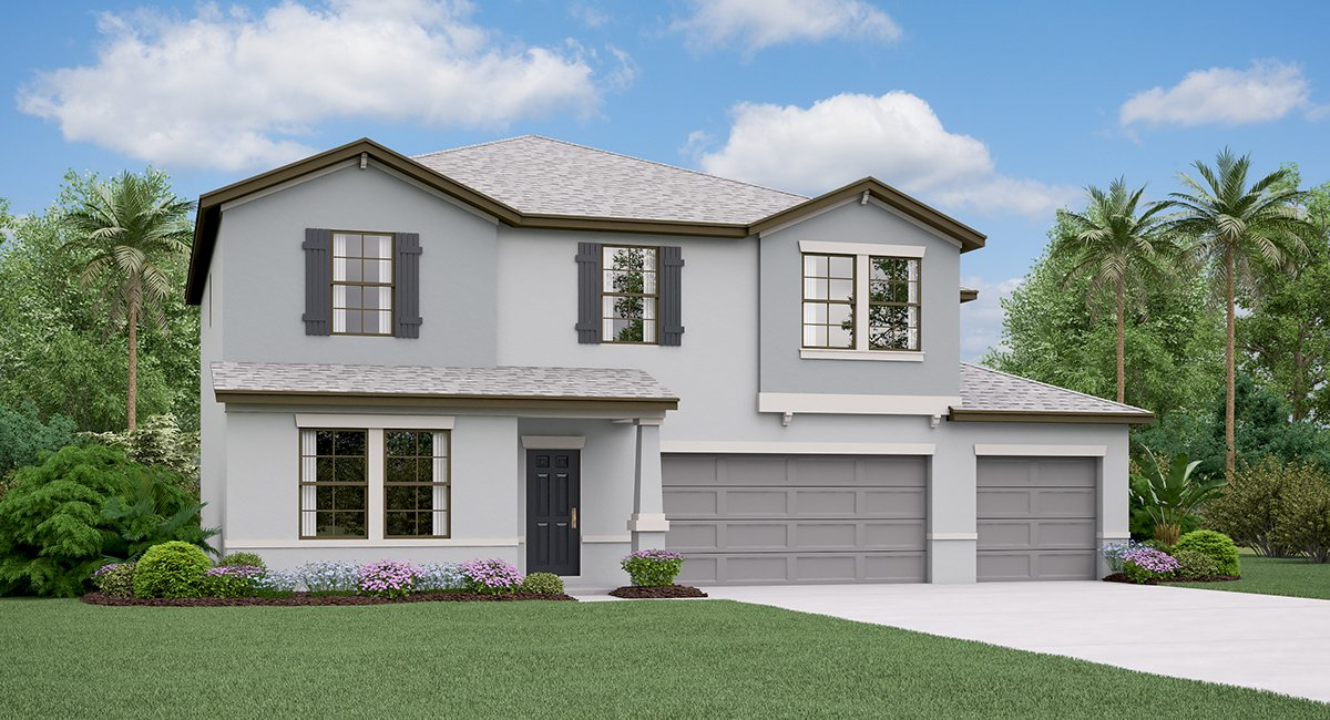 The  Helena Model Tour Spencer Creek Lennar Homes Ruskin Florida
