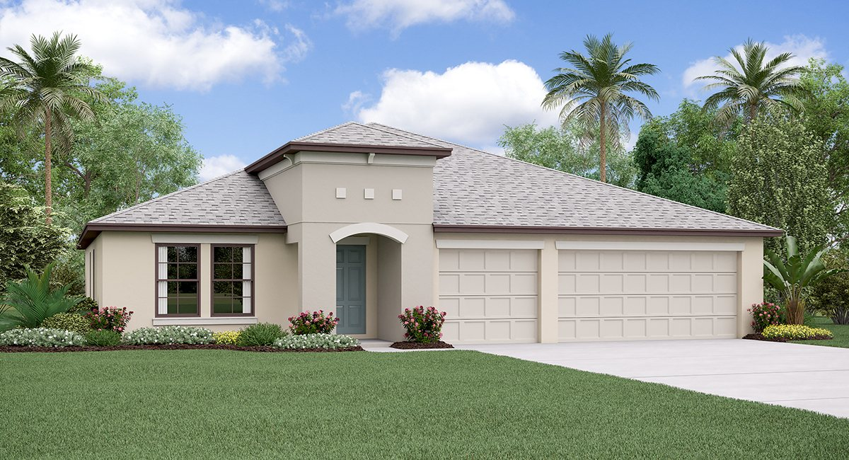 The Lincoln Model Tour Spencer Creek Lennar Homes Ruskin Florida