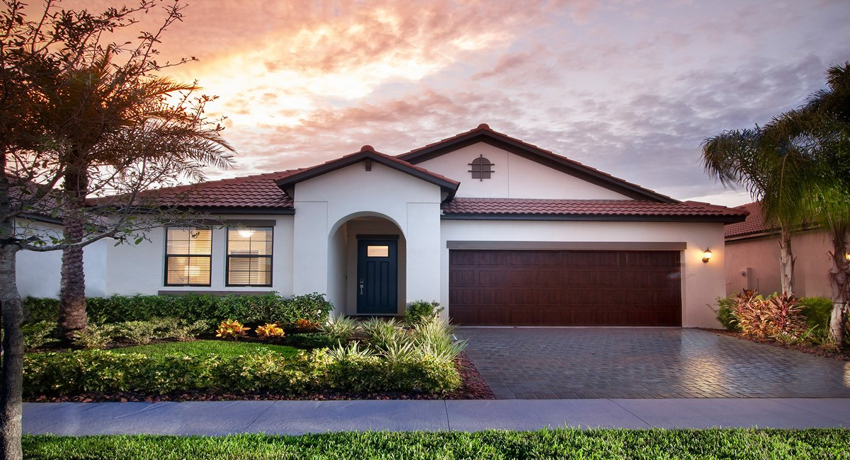 The Sunburst Model Tour Medley at Southshore Bay Lennar Homes Wimauma Florida