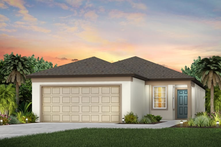 The Collier Model Tour North River Ranch Centex Homes Parrish Florida