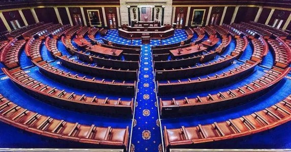 The US House Of Representatives On A Slow Day