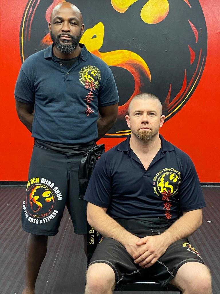 Tampa Wing Chun Kung Fu-Sifu Och-Sifu Brumfield