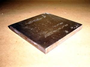 Placas de tampografía de acero