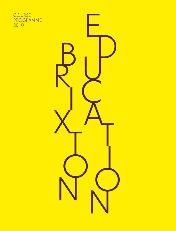 Brixton Education Course Programme