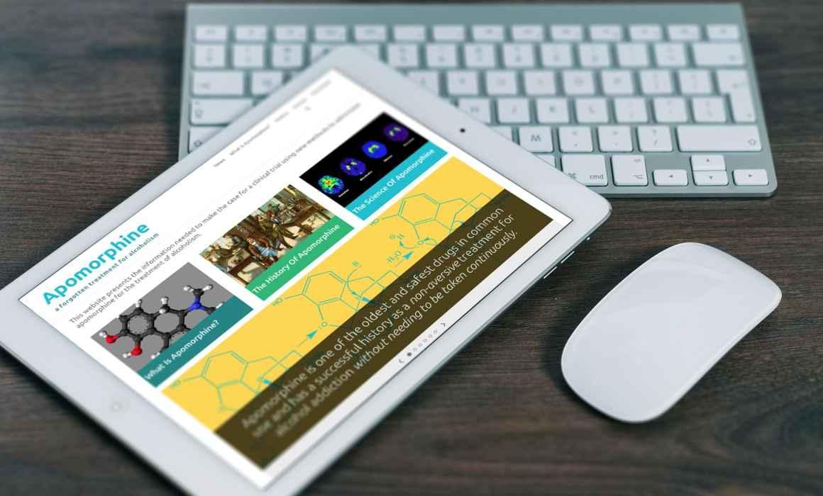 Apomorphine Website