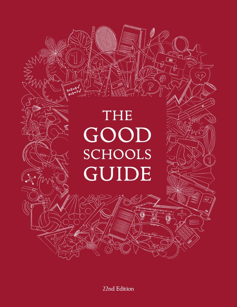 Cover design and illustration for the 22nd edition of The Good Schools Guide