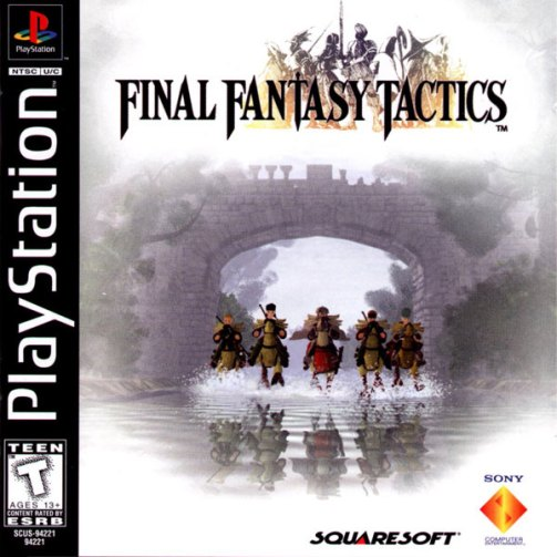Final Fantasy Tactics [U] [SCUS-94221]-front