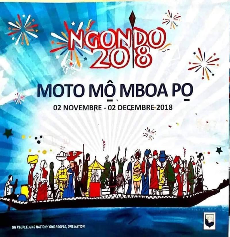 NGONDO  2018 « MOTO Mô MBOA Pô » L'ASSEMBLEE TRADITIONNELLE DU PEUPLE SAWA OUVRE SA PAGE AVEC DE NOMBREUSES INNOVATIONS