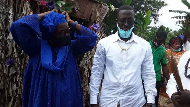 A la fleur de l'âge, Christian Jordy MAKA NJOH accède au trône de la chefferie de Bomono Ba Jédu