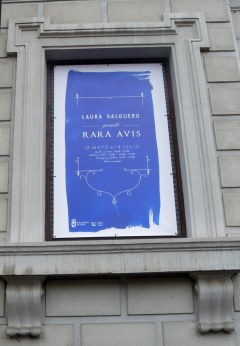 """Rara avis"". Exposición de Laura Salguero en el CLA. Foto: E. Otero."