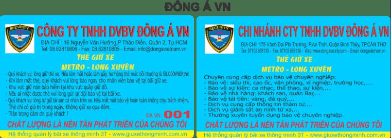 DONG A VN