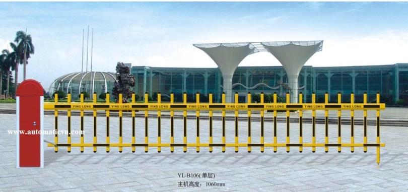 Mẫu barrier tự động cần rào
