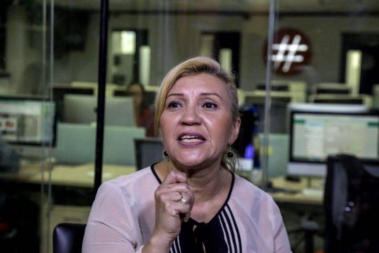 Neida Pérez Morillo, defensora privada de presos políticos militares y directora de la ONG Justicia Venezolana