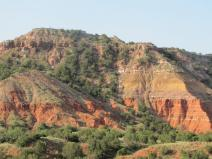 In the Beginning: Hiking in Palo Duro Canyon in a place aptly named -- Canyon, Texas. Beautiful scenery and not as hot as I would have expected in mid-July!
