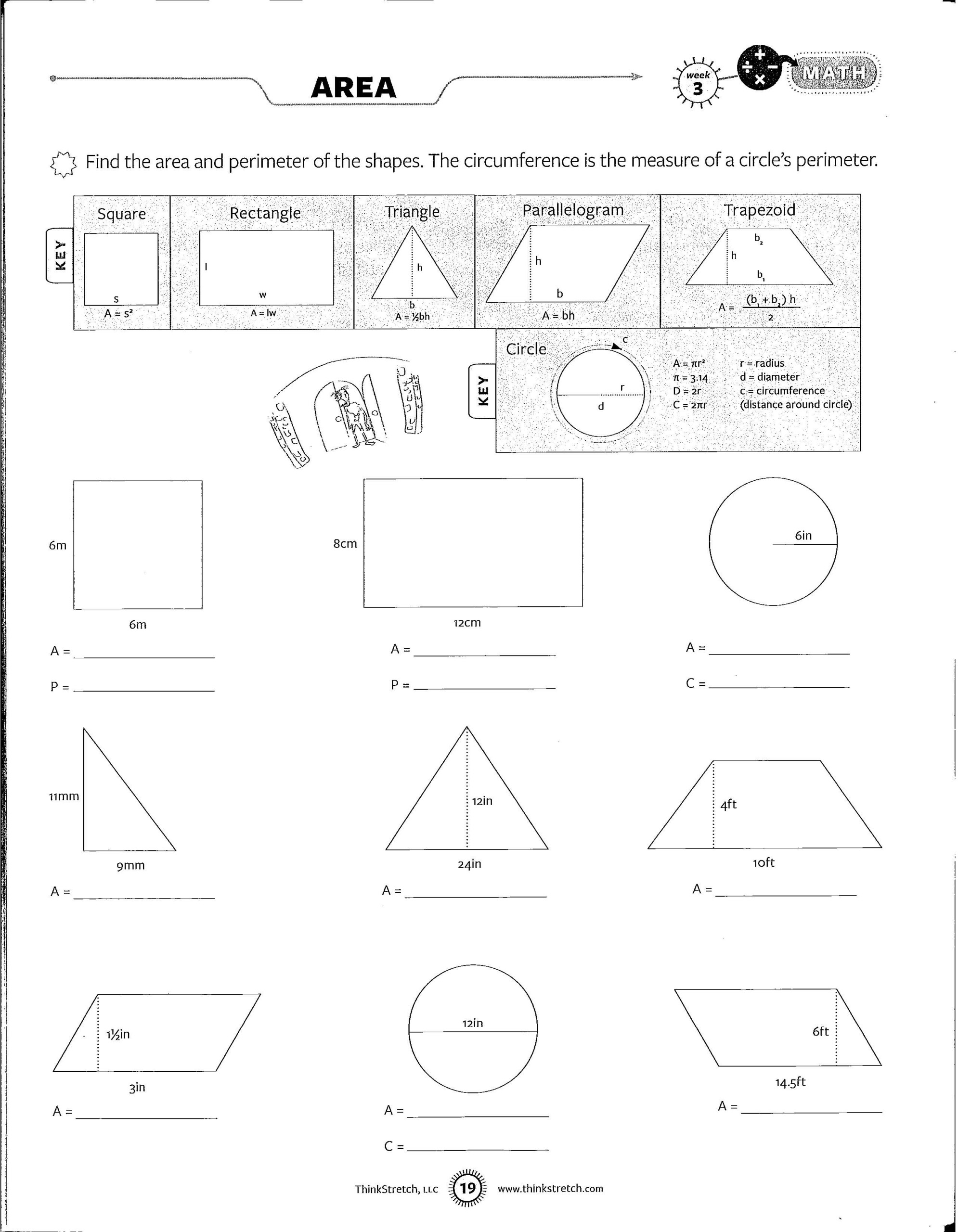 Middle School Math Worksheets 8th Grade