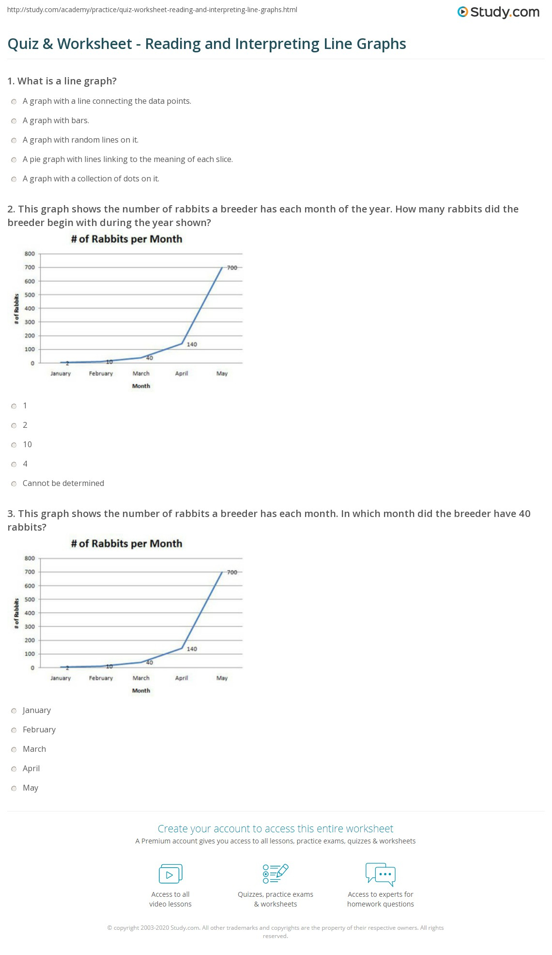Middle School Science Graphing Worksheets