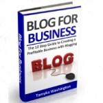 Blog for Business eBook - Marketing Her Way Tamyka Washington