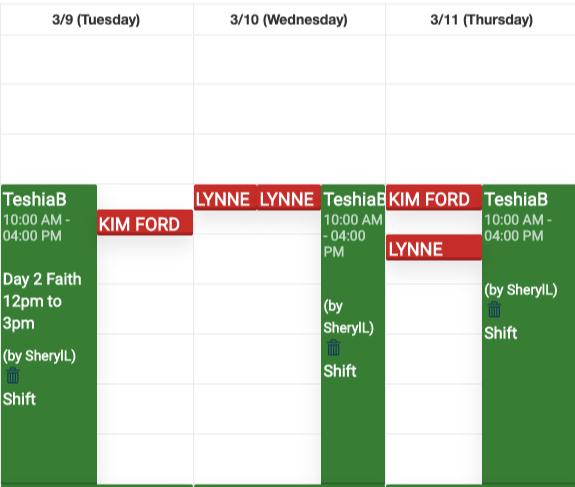 Tanning Salon Software Schedule