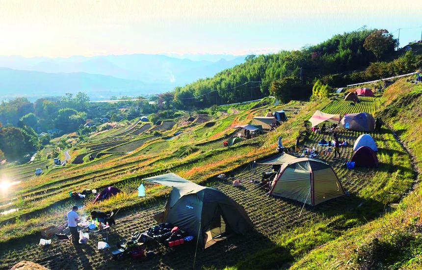 稲倉の棚田キャンプ