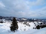 雪の星峠 撮影者:三谷真実 撮影地:新潟県十日町市 撮影日:2018年1月20日
