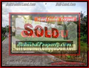 JUAL TANAH di CANGGU 510 m2 View Sawah