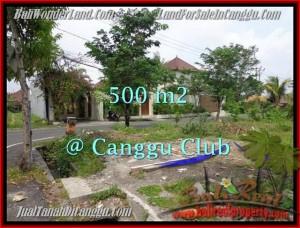 JUAL TANAH di CANGGU 500 m2 di Canggu Brawa