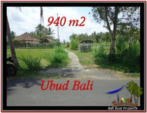 JUAL TANAH di UBUD 9.4 Are View Sawah, link Villa
